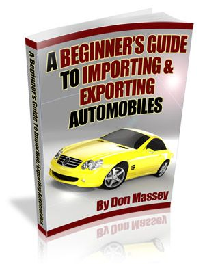 Importing And Exporting Cars