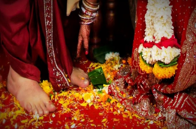 Charansparsh - Ancient Vedic tradition involved touching the feet
