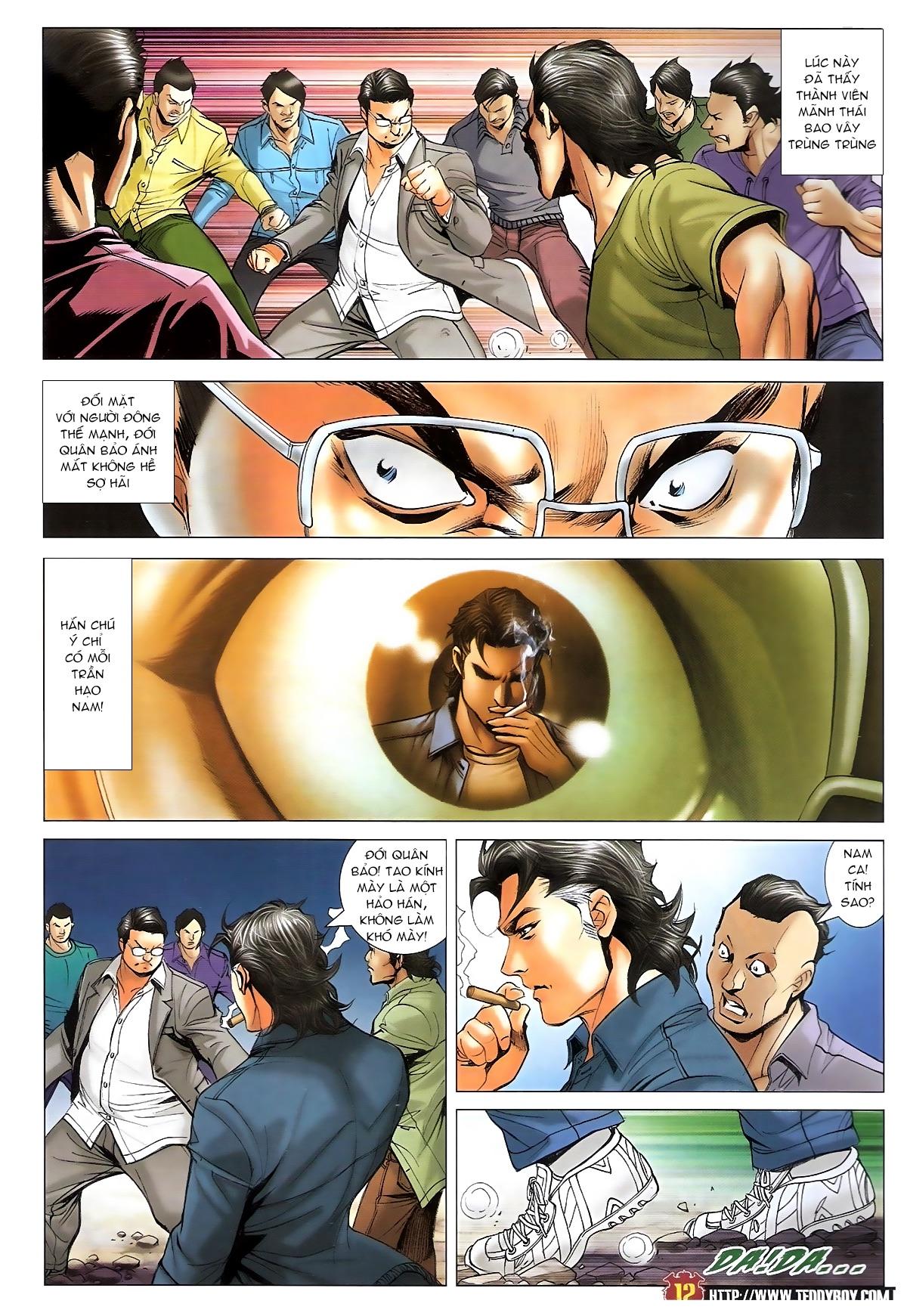 Người Trong Giang Hồ - Ngũ Hổ qui thiên - Chapter 1709: Hổ Khốn - Pic 11