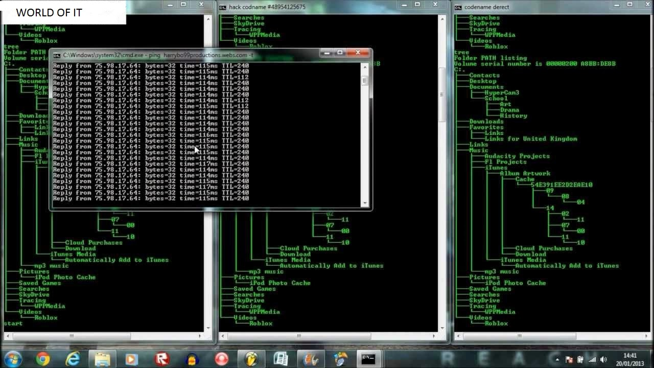 CMD Hacking Tricks/fun tricks with command prompt *watch