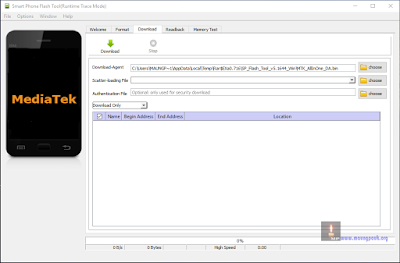 SP Flash Tool Latest Version v5.16.44