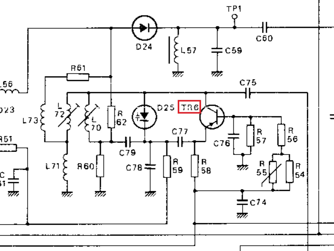 Radio Theory And Design Looking At Another Oscillator Fm Transistor Oscillators I Was Shopping For Some Reasonably Priced High Frequency Rf Transistors Found A Link To Tv Tuners The In Uhf Section