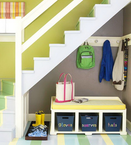10 ideas to take advantage of the stairwell 10