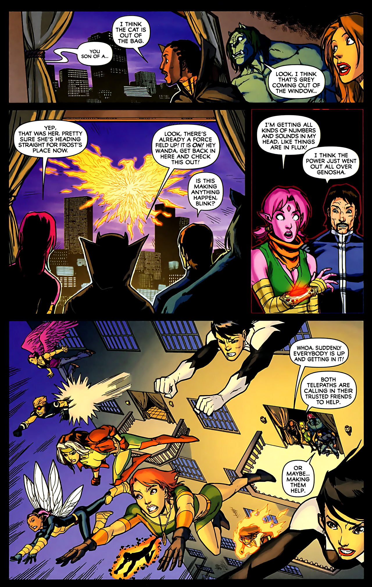 Read online Exiles (2009) comic -  Issue #6 - 10