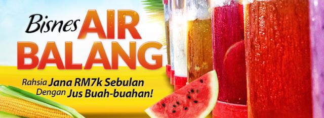 Harga Peralatan Bisnes Air Balang Bazar Ramadhan