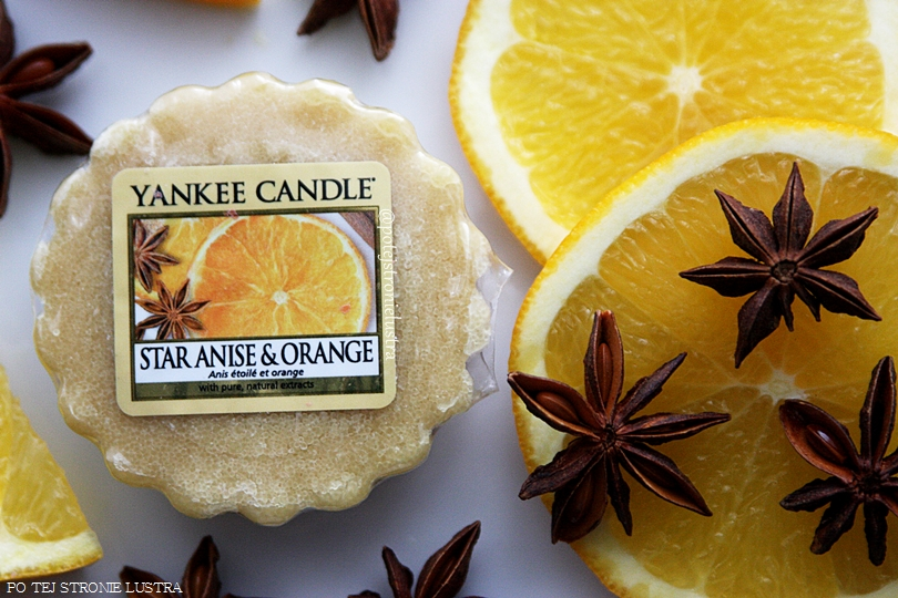 wosk zapachowy yankee candle pomarańcza i anyż
