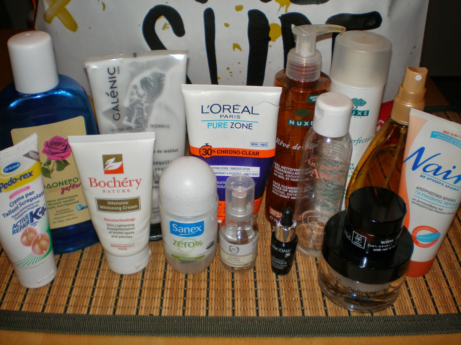 Fall 2014 Skincare Empties