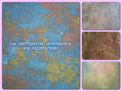 Cat dinding Tekstur motif Abstrak