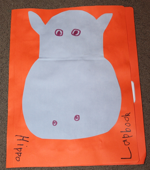 Hippo Lapbook - Simple Living  Creative Learning
