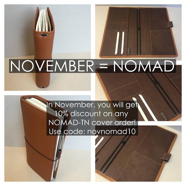 Van der Spek Nomad Promotion Code valid for November.