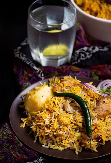 chicken biryani recipe kolkata style