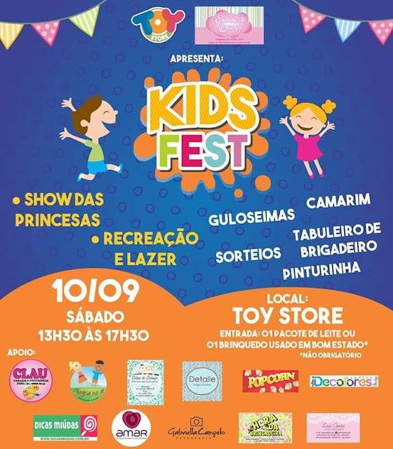 Toy Store Brinquedos em Recife Kids Fest na Toy Store Recife