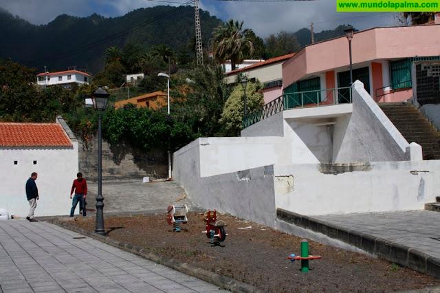 El Ayuntamiento de Santa Cruz de La Palma inicia la rehabilitación de la Casa de la Cultura de Velhoco y su entorno