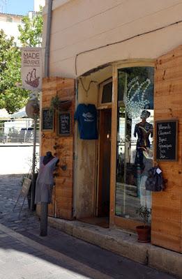 Marseille: Shop im Viertel Le Panier