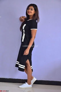 Actress Neha Deshpandey in Black Short Dress ~  Exclusive 002.jpg