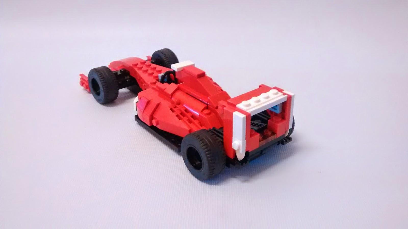 yoshiny 39 s design lego f1 31024 alternate build of ferrari formula 1 car. Black Bedroom Furniture Sets. Home Design Ideas