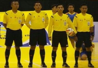 Tugas Wewenang Wasit Futsal