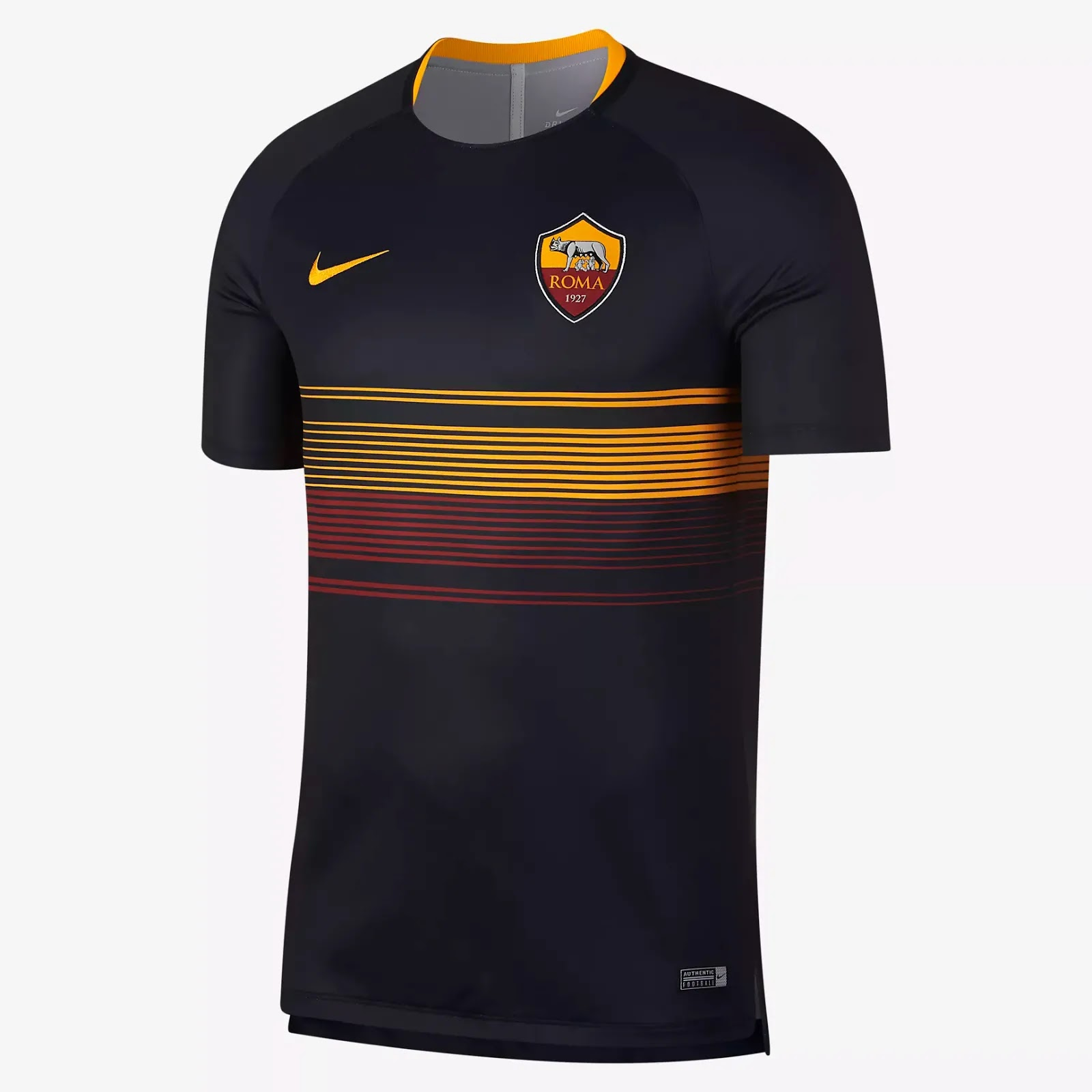 various colors 20dcd c2c90 Unique Nike AS Roma 18-19 Pre-Match Jersey Released ...