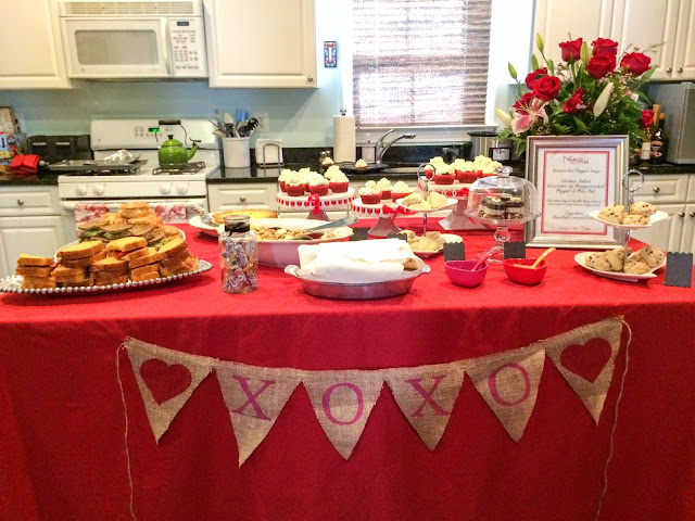 lifestyle blogger fashion after 40 tea party valentine banner