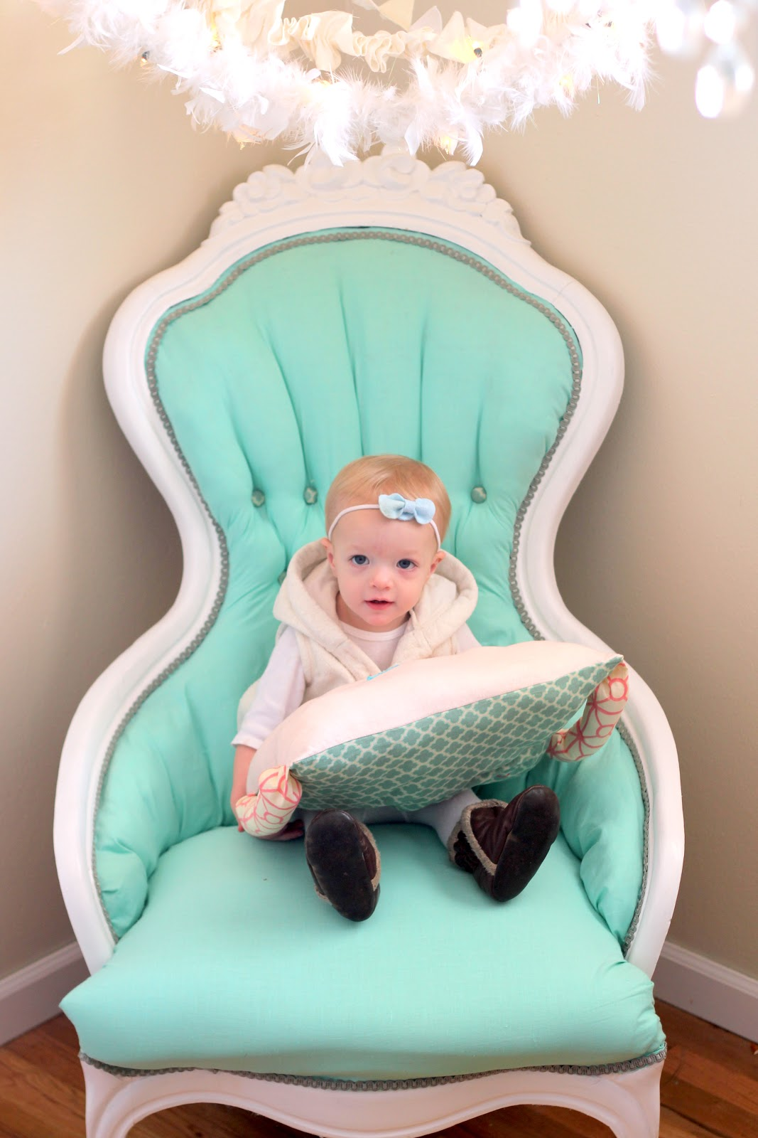 land of nod chair unusual beds aqua redo tutorial how to reupholster a tufted