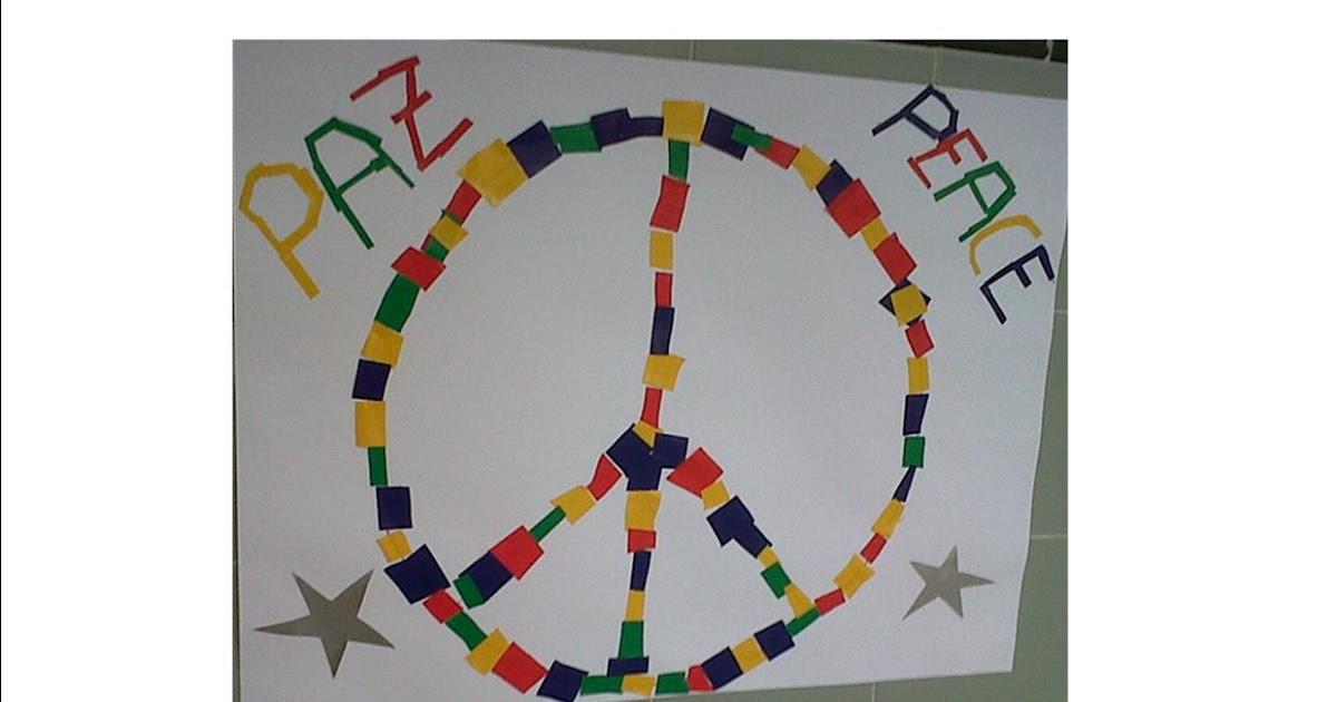 Día De La Paz Galería De Dibujos Y Carteles Niños Del: ALGOPEKES: Cartel Para El Día De La Paz