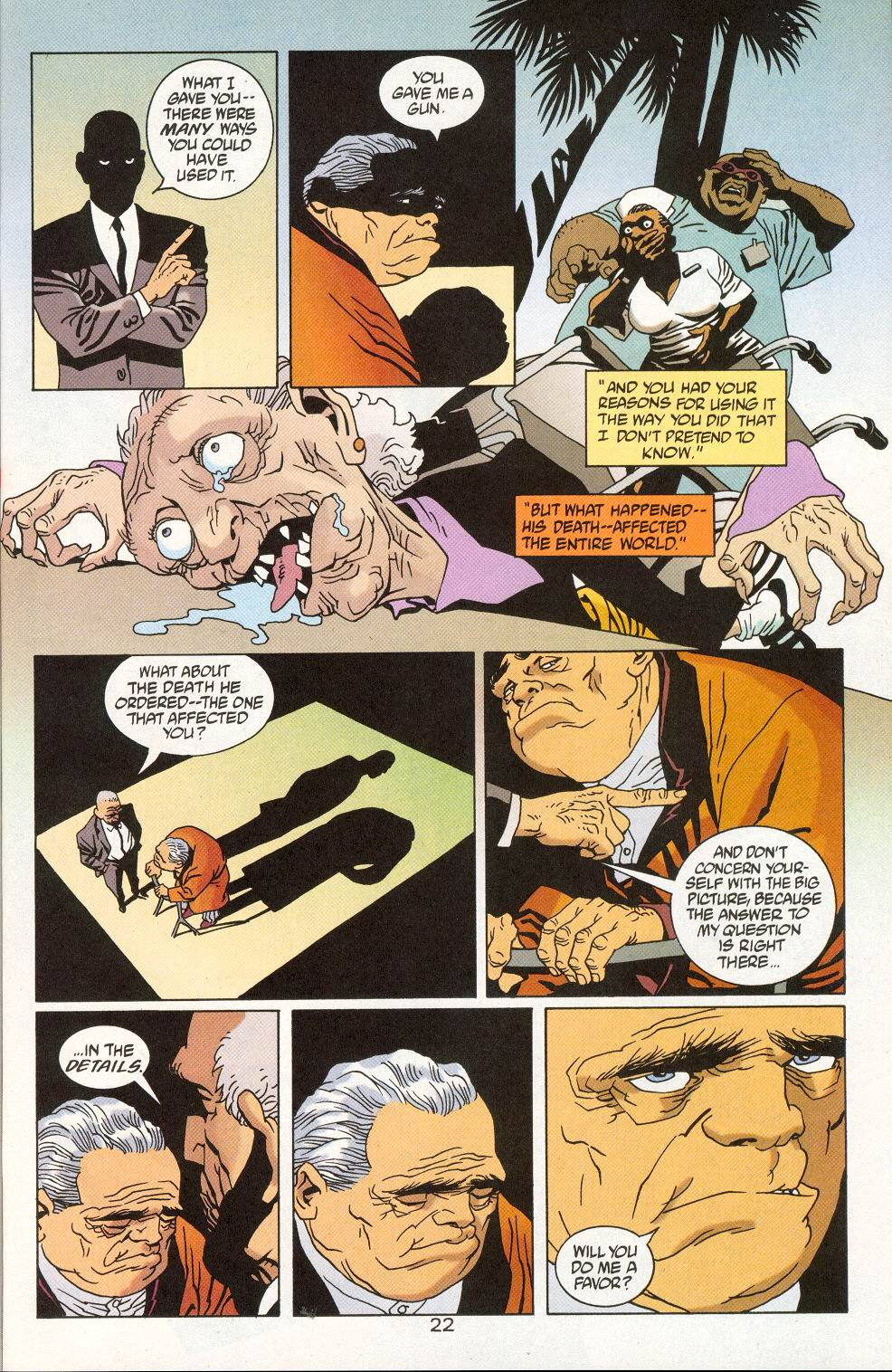Read online 100 Bullets comic -  Issue #27 - 24