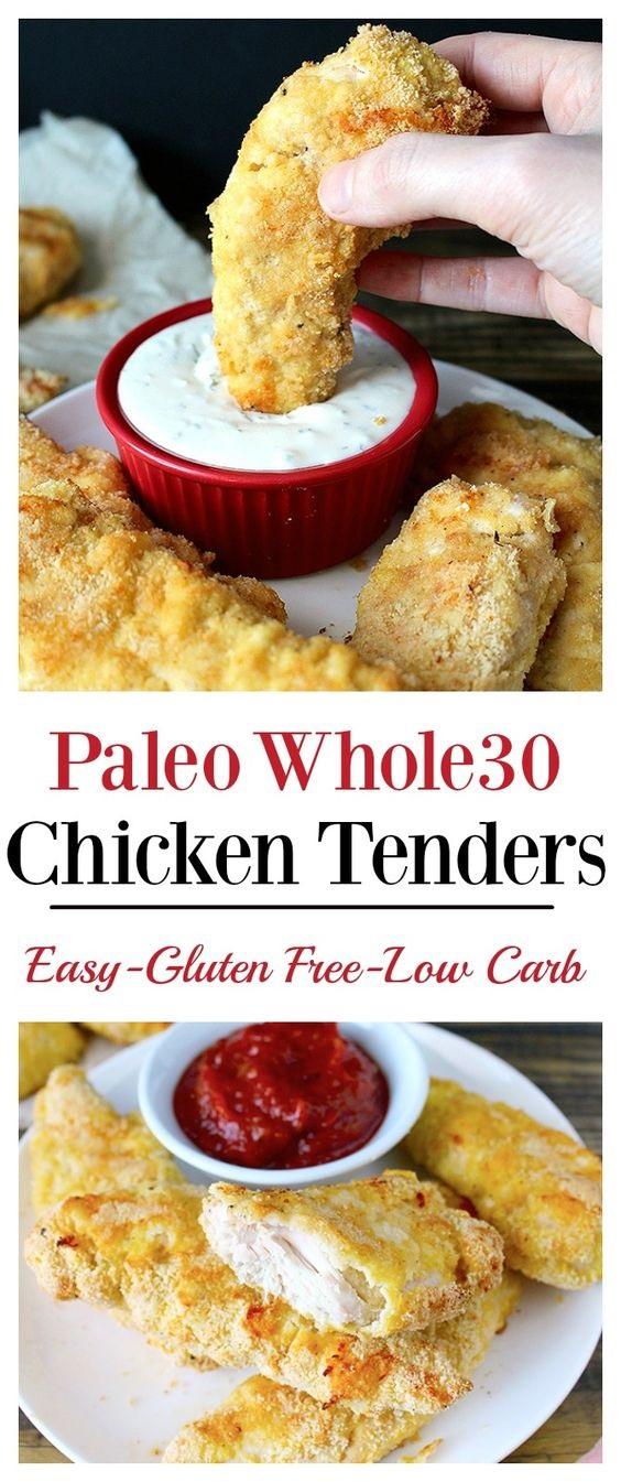 Paleo Whole30 Chicken Tenders