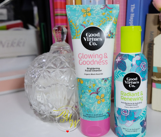 a photo of Good Virtues Co. products review
