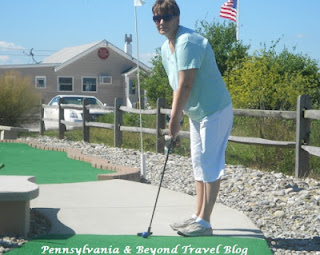 Miniature Golf on Sunset Beach Cape May New Jersey