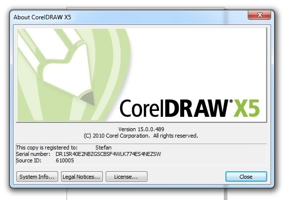 download corel draw x5 full version with serial number