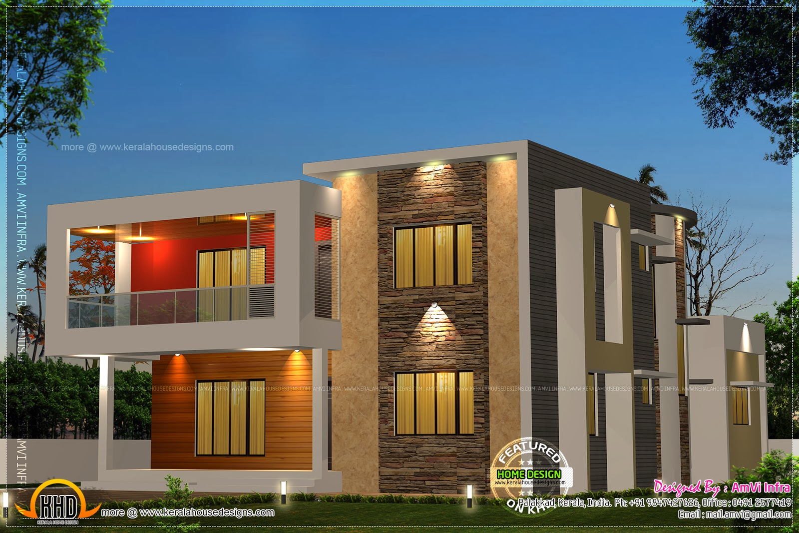 modern 5 bedroom house designs modern contemporary 5 bedroom home design in 2927 square 19211