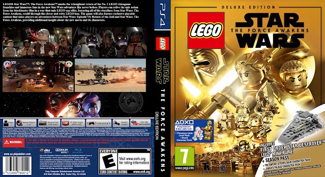 Capa LEGO Star Wars The Force Awakens Deluxe Edition PS4 [Exclusiva]