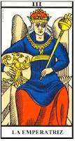 La Emperatriz- Tarot de Marsella