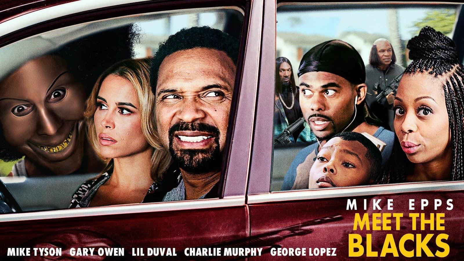 Meet the Blacks 2016 English Movie Download Free HD DVDrip