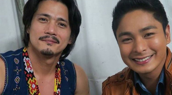 Spotted: Coco Martin turns fanboy upon meeting Robin Padilla