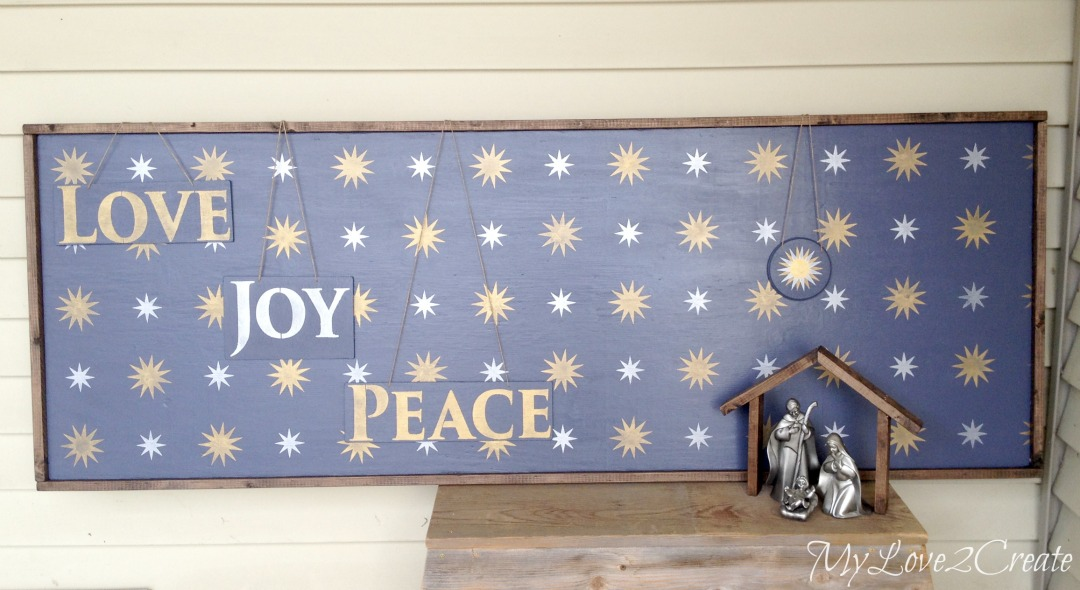 MyLove2Create, Starry Night Christmas Nativity