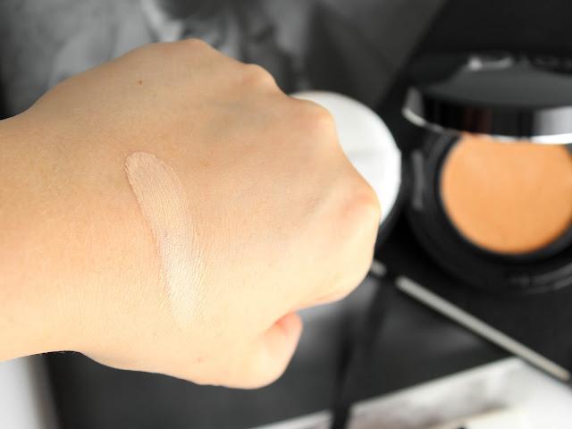 dior makeup swatche