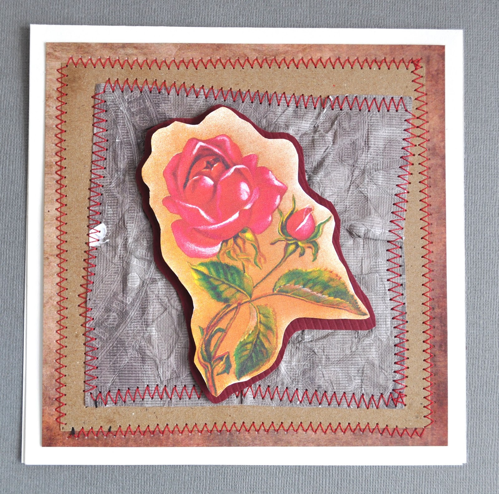 The Graphics Monarch Rose Red Yellow Handmade Greeting Cards Designs
