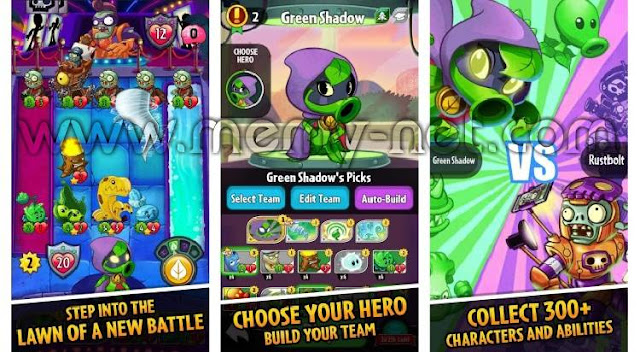 Download Plants vs. Zombies Heroes MOD Unlimited Sun free on android