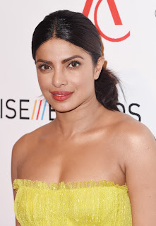 Priyanka Chopra Glowing Skin In Yellow Dress At Accessories Council ACE Awards In New York