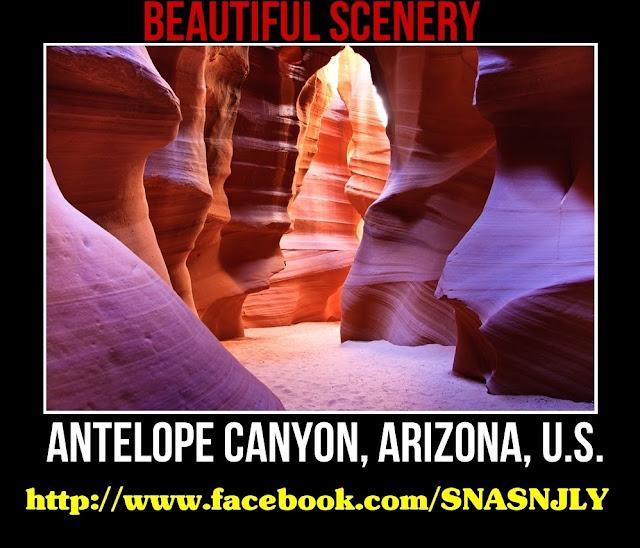 Antelope Canyon, Arizona, USA, Beautiful scenery