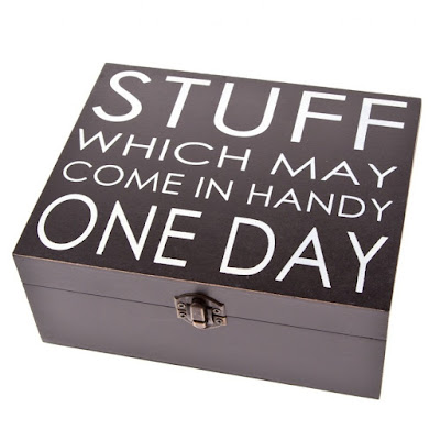 Stuff which may come in Handy Wooden Box