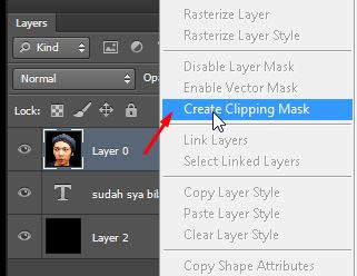gunakan fitur create clipping mask