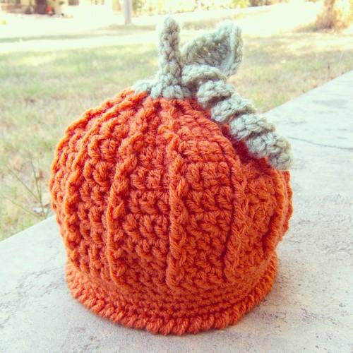 Pumpkin Harvest Hat - Free Pattern