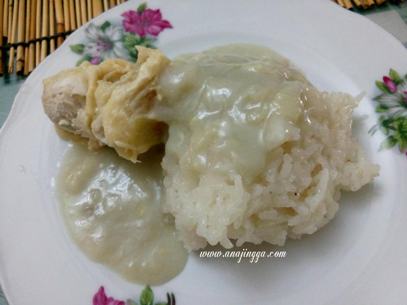 Pulut Durian Mak