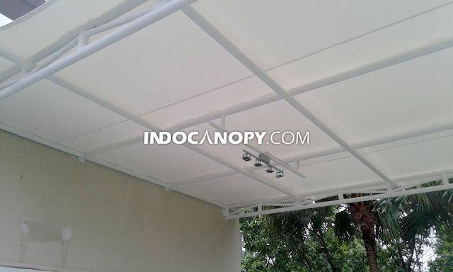 atap tenda membran awning kanopi