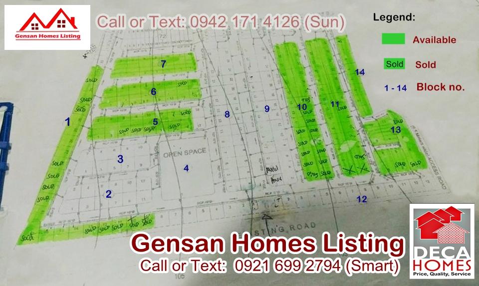 Gensan Homes Listing DECA HOMES GENSAN 1 2 Bedroom Calumpang