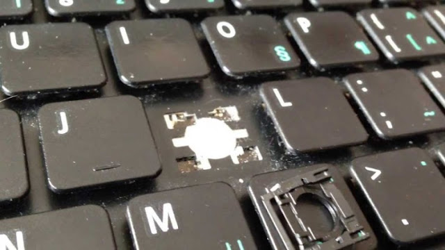 Tanda Laptop Perlukan Papan Kekunci Baru
