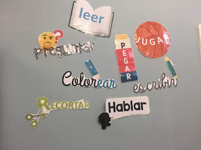 decoración para clase de ele spanish lesson classroom decoration #spanishteacher #teachmorespanish profedeele