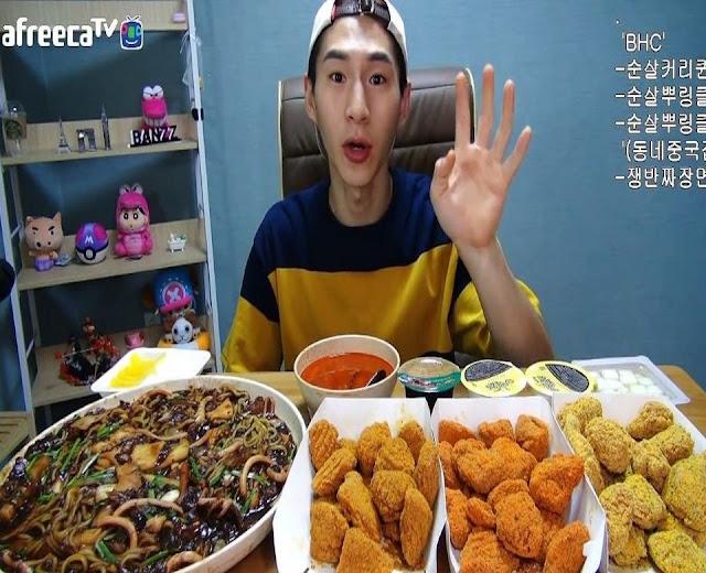 (K-Food) le Meokbang une tendance venue de Corée du Sud.